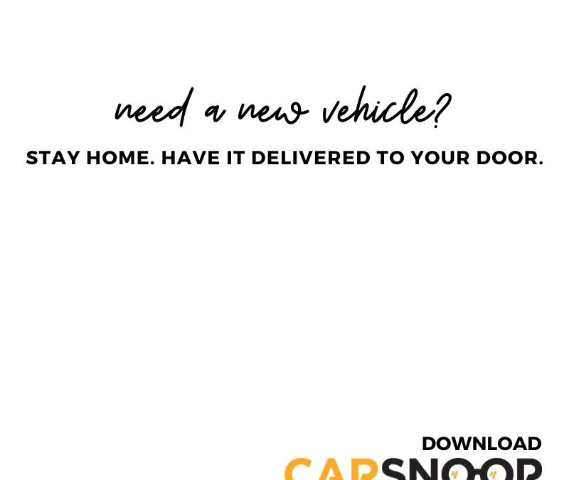 CarSnoop Redefines New Car Buying.